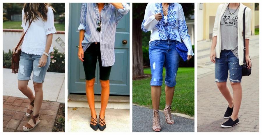 Jeitos de usar bermuda jeans