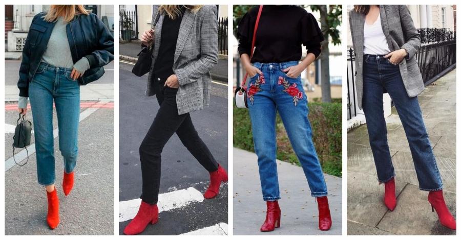 Como usar sua bota vermelha de jeito certo.
