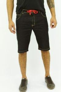 Bermuda jeans modelo slim